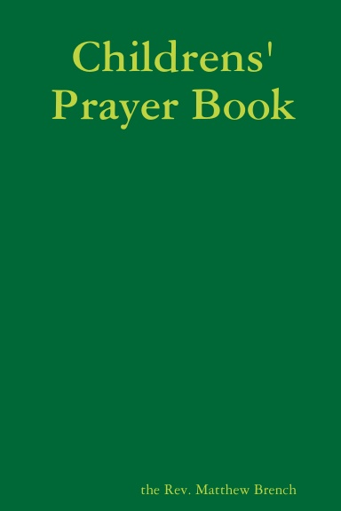 Childrens' Prayer Book