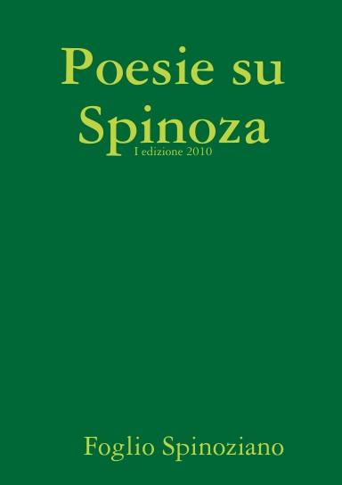 Poesie Su Spinoza
