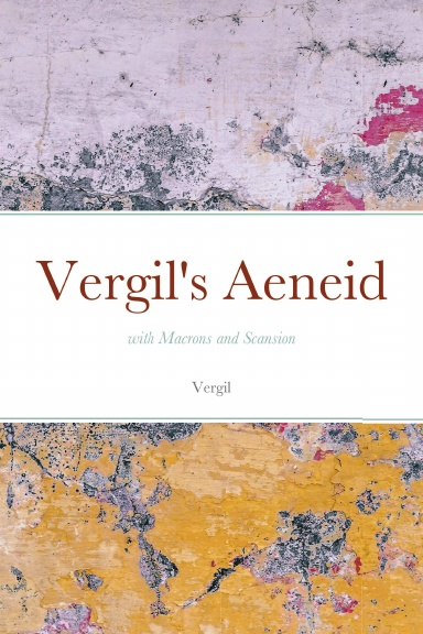 Front cover of Aeneid book from Lulu