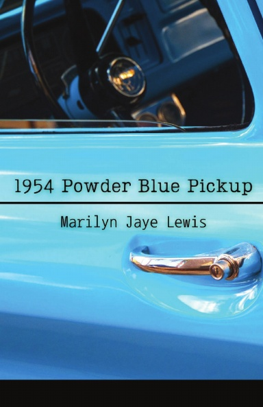 1954 Powder Blue Pickup