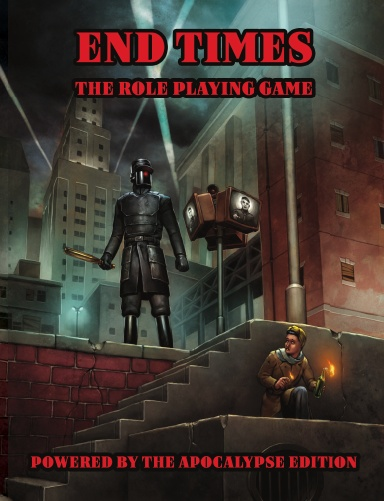End Times the RPG (PBTA, Hardcover, 1940s)