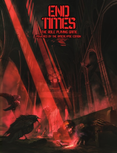End Times the RPG (PBTA, Hardcover, Shelter in Place)